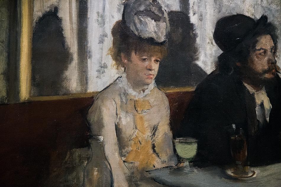 Paris, Musée d'Orsay, Edgar Degas, Absinth