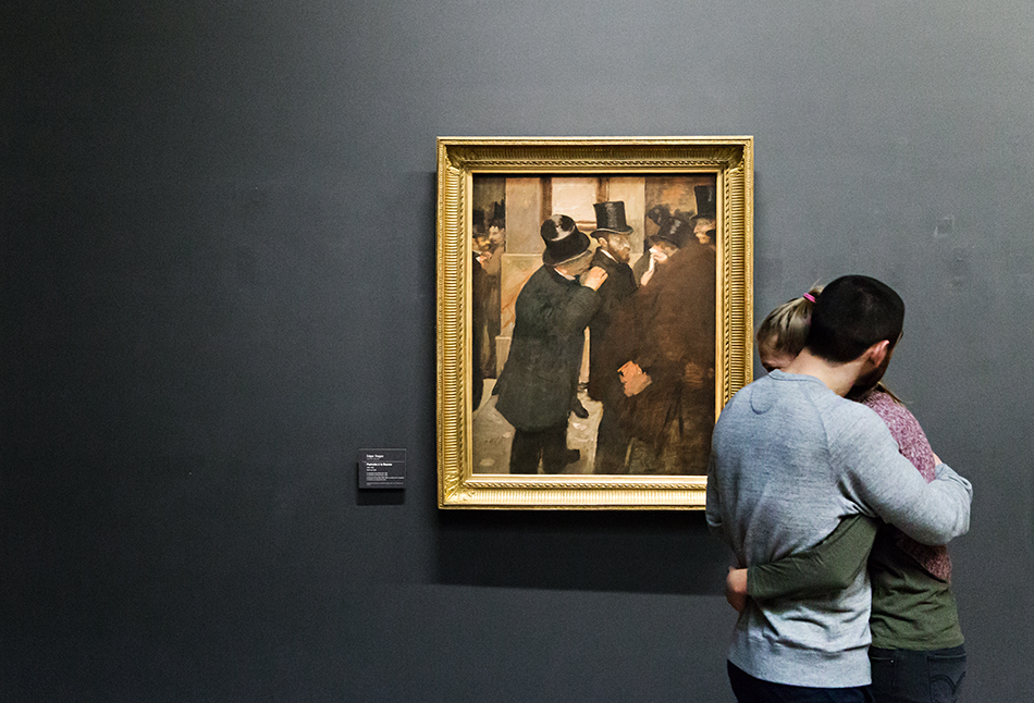 Paris, Musée d'Orsay, Edgar Degas, , Porträts an der Börse