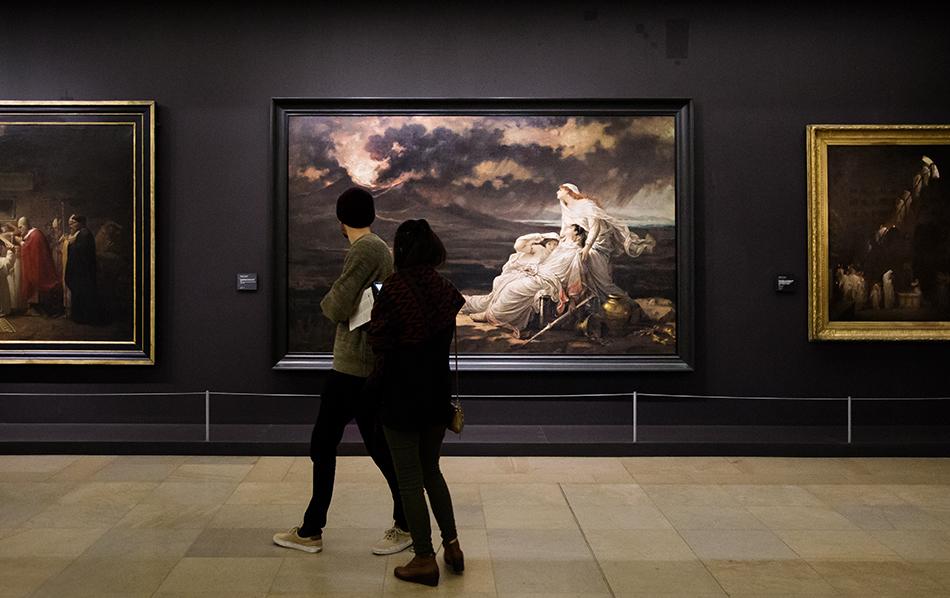 Paris, Musée d'Orsay, Hector Leroux,, Herculaneum