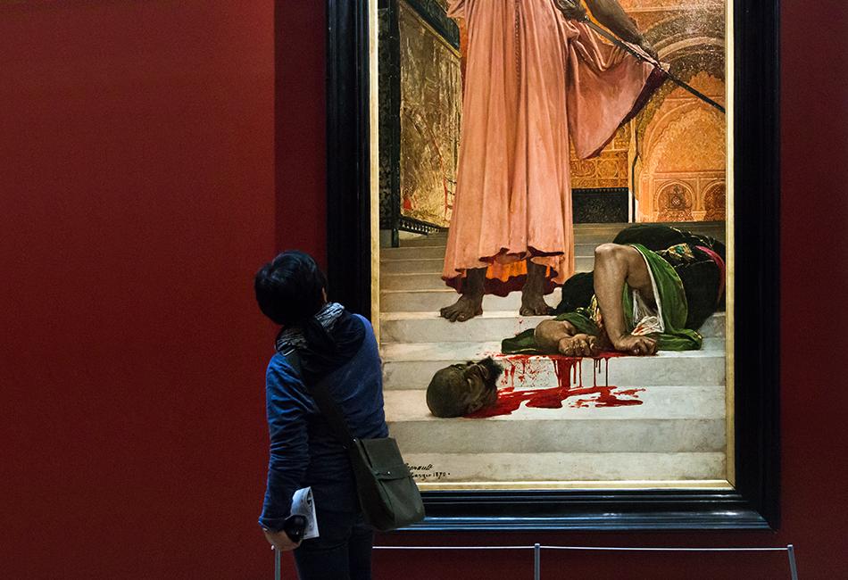 Paris, Musée d'Orsay, Henri Regnault, Hinrichtung ohne Urteilsspruch unter den maurischen Königen in Granada