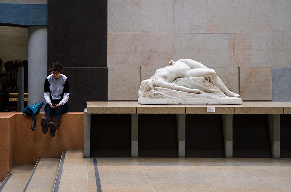 Paris, Musée d'Orsay, Alexandre Schoenewerk, Die junge Tarentine