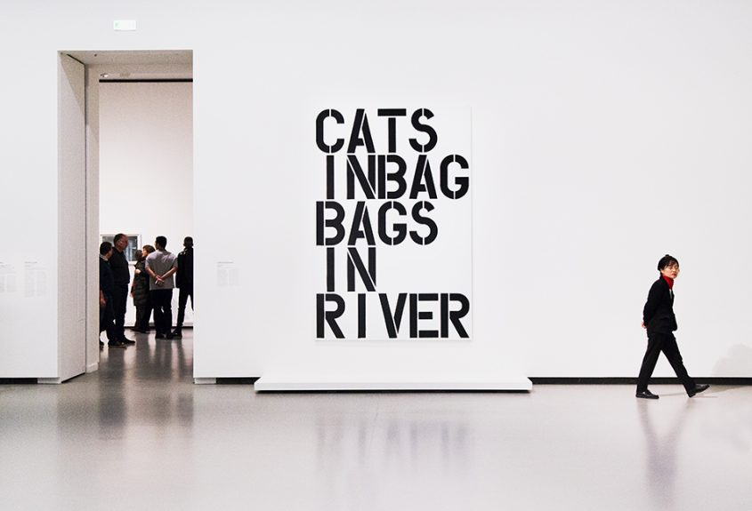 Paris, Fondation Louis Vuitton, MOMA, Christopher Wood, Cats in bag