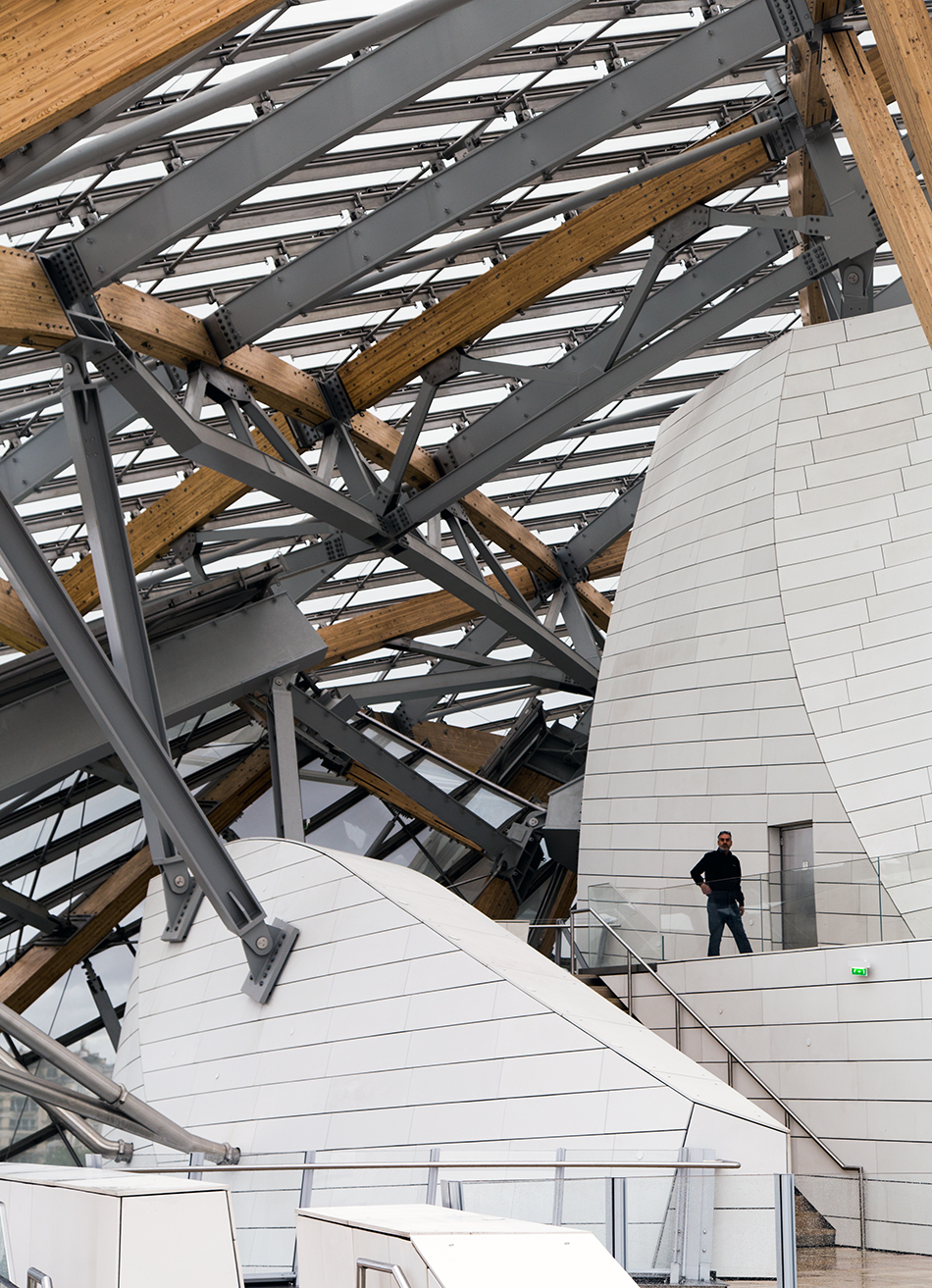 Paris, Fondation Louis Vuitton,