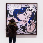 Paris, Fondation Louis Vuitton, MOMA, Roy Lichtenstein, Drowning Girl