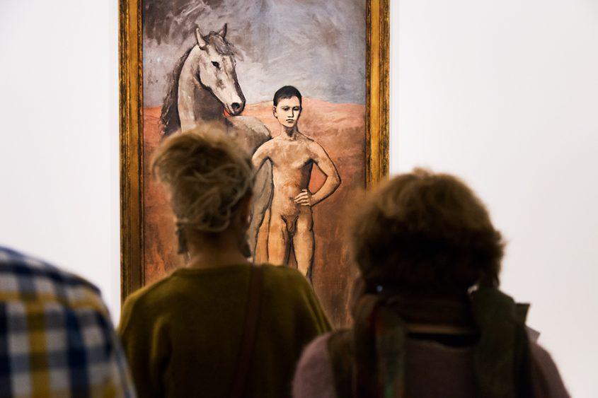 Paris, Fondation Louis Vuitton, MOMA, Pablo Picasso, Boy Leading a Horse