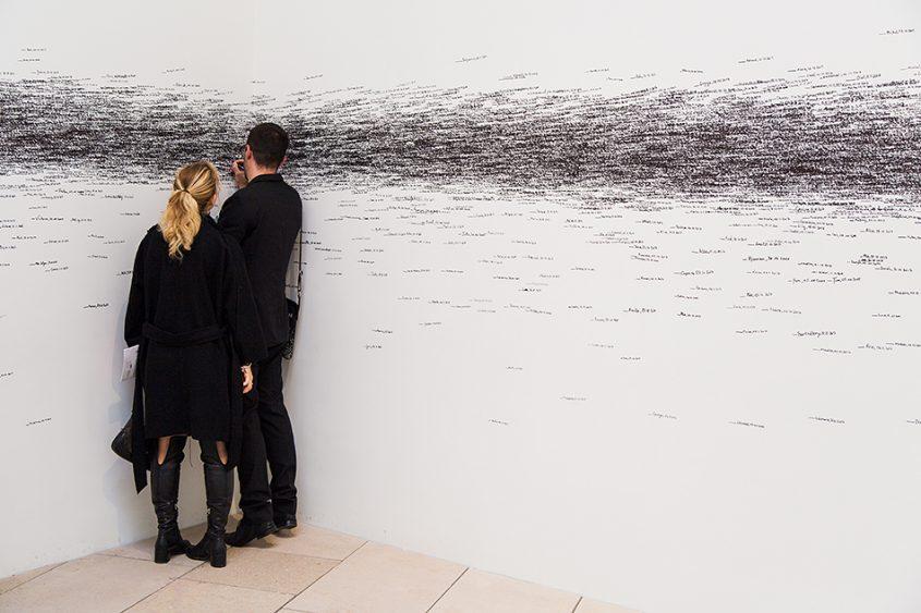 Paris, Fondation Louis Vuitton, MOMA, Roman Ondak, Measuring the Universe