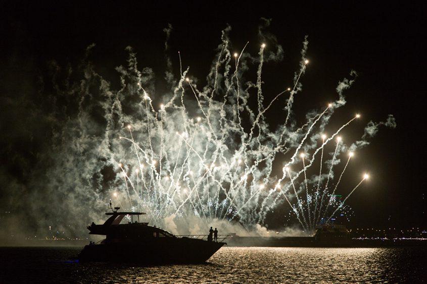 Fabian Fröhlich, Manila, Fireworks
