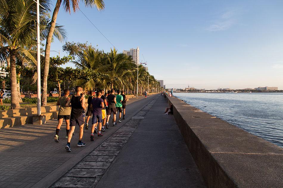 Fabian Fröhlich, Manila, Malate, Bay Walk
