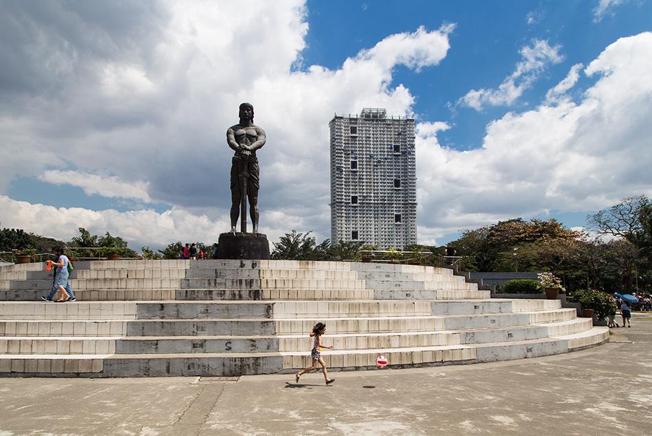 Fabian Fröhlich, Manila, Rizal Park, Lapu Lapu Monument