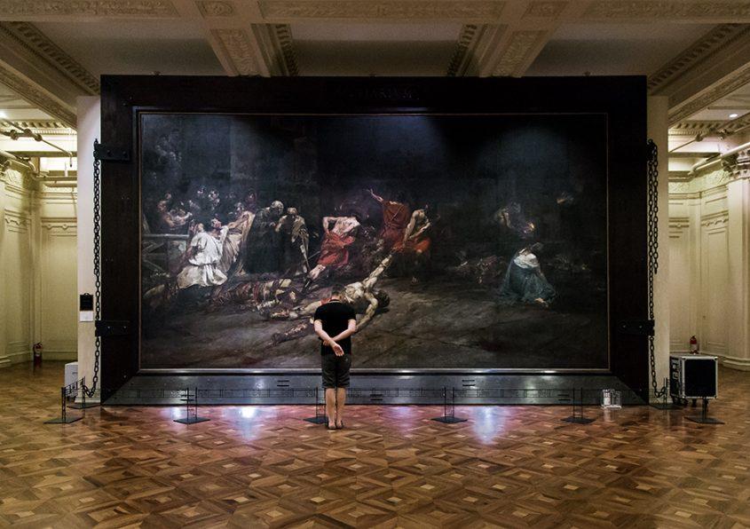 Fabian Fröhlich, Manila, National Museum of Fine Arts of the Philippines (The Spoliarium by Juan Luna Y Novicio)