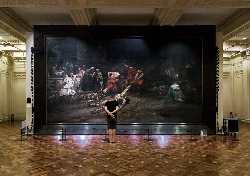 Fabian Fröhlich, Manila, National Museum of Fine Arts of the Philippines (The Spoliarium by Juan Luna Y Novicio)