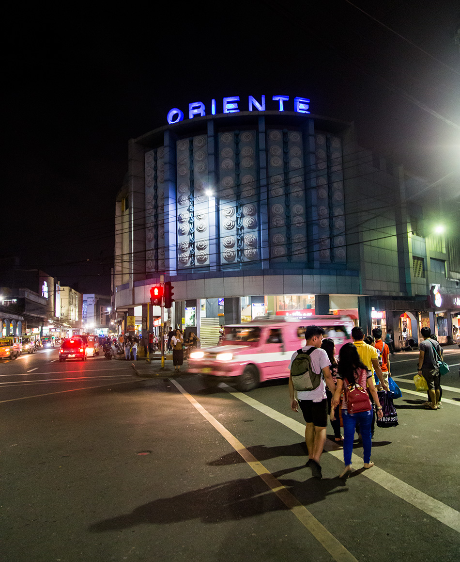 Fabian Fröhlich, Cebu City, Cine Oriente