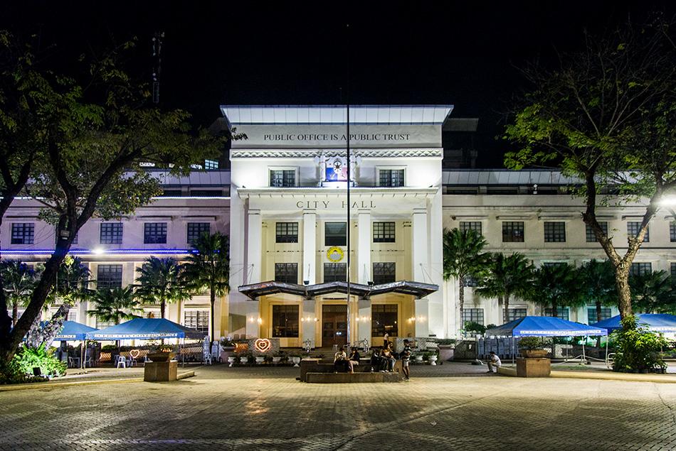 Fabian Fröhlich, Cebu City, City Hall