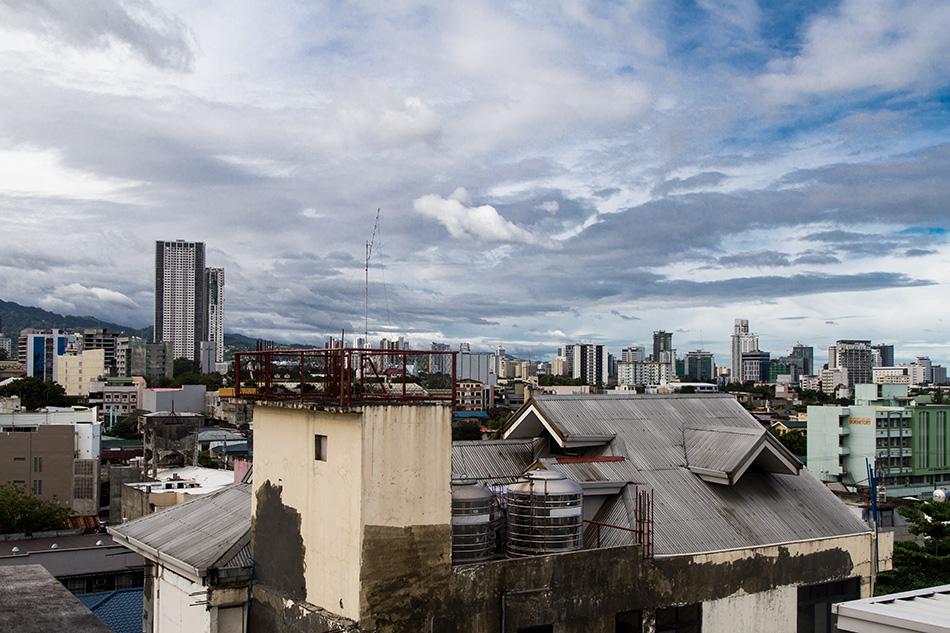 Fabian Fröhlich, Cebu City, View from Southpole Central Hotel