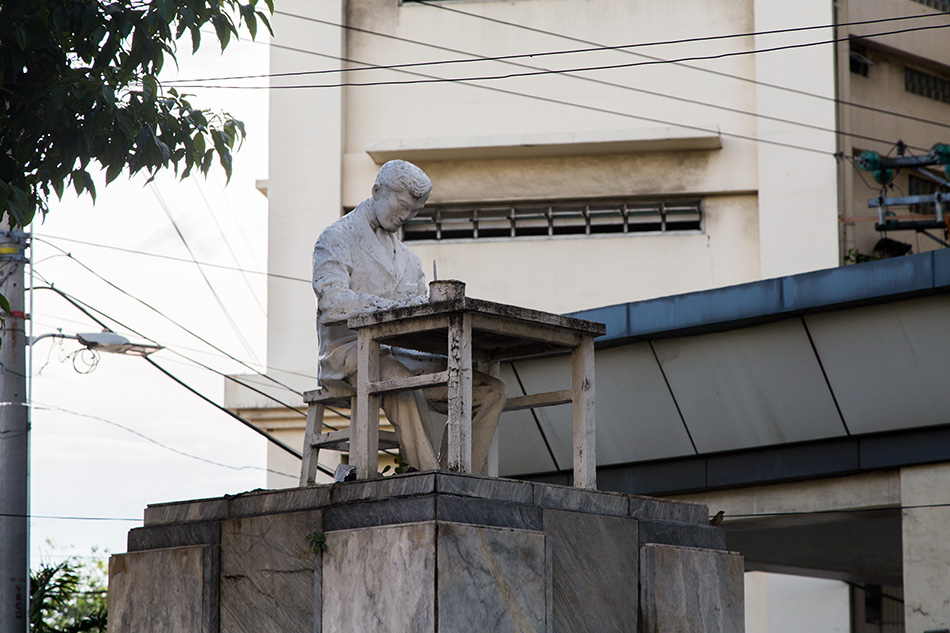 Fabian Fröhlich, Cebu City, Jose Rizal Monument