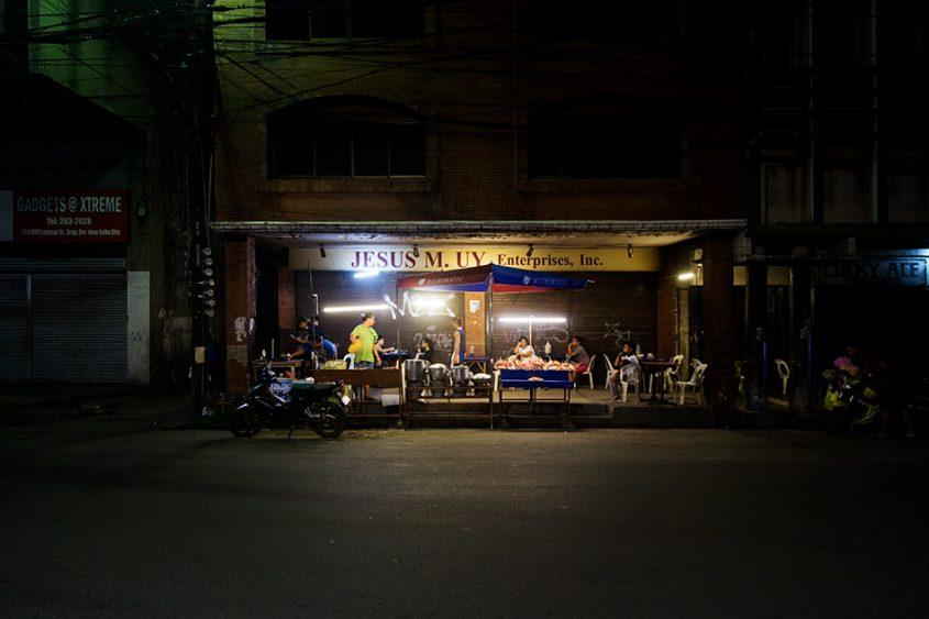 Fabian Fröhlich, Cebu City, Legaspi Street