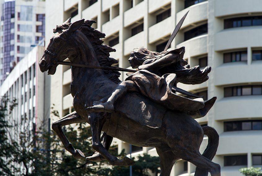 Fabian Fröhlich, Manila, Makati, Gabriela Silang Monument