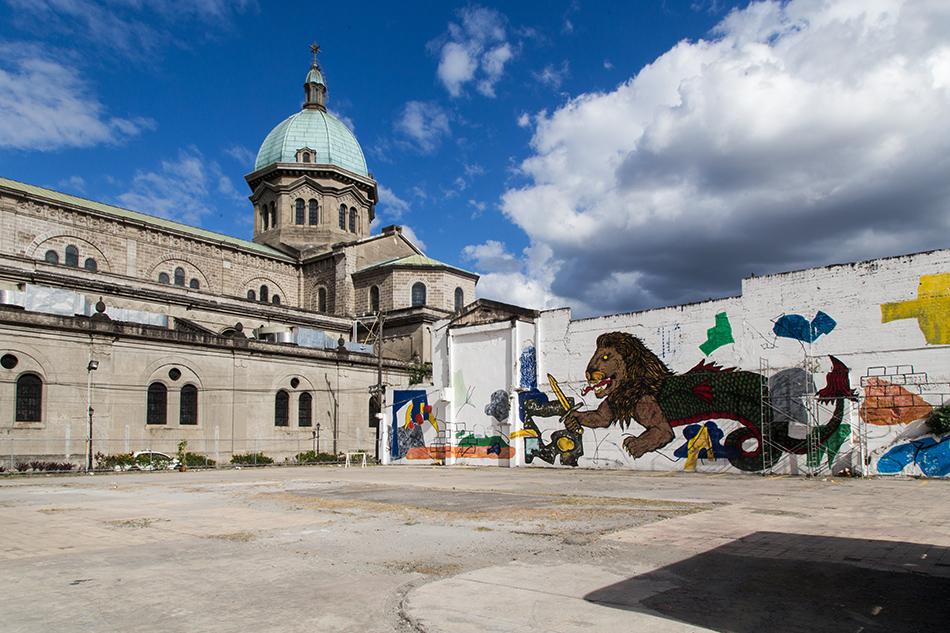 Fabian Fröhlich, Manila, Intramuros, Cathedral of Manila