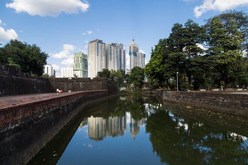 Fabian Fröhlich, Manila, Intramuros, Fort Santiago