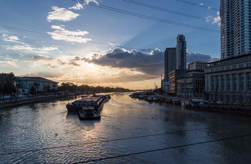 Fabian Fröhlich, Manila, Intramuros, River Pasig