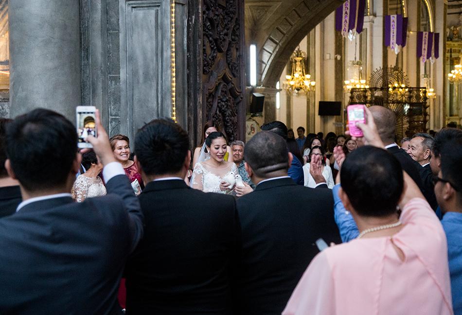 Fabian Fröhlich, Manila, Intramuros, Wedding. San Agustín