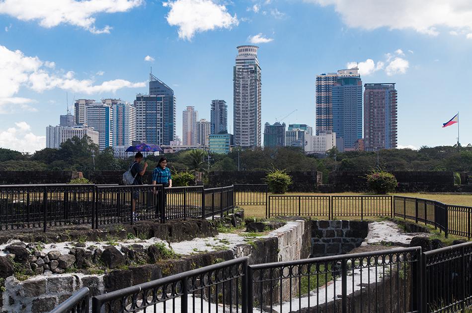 Fabian Fröhlich, Manila, Intramuros, Baluarte de San Diego