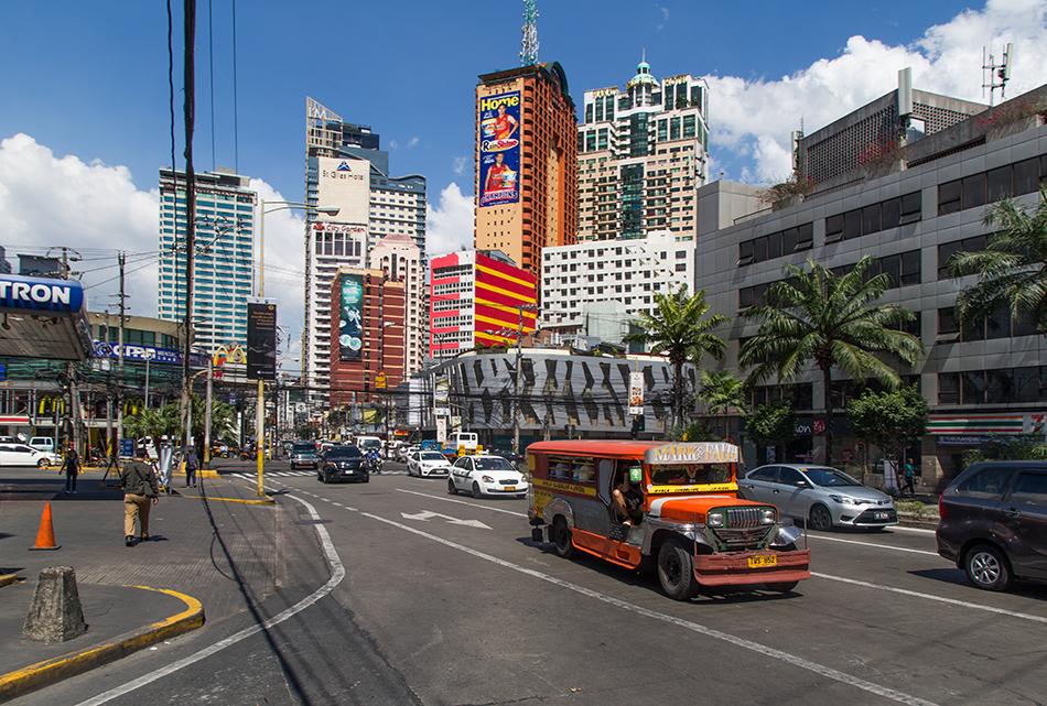 Fabian Fröhlich, Manila, Makati Avenue