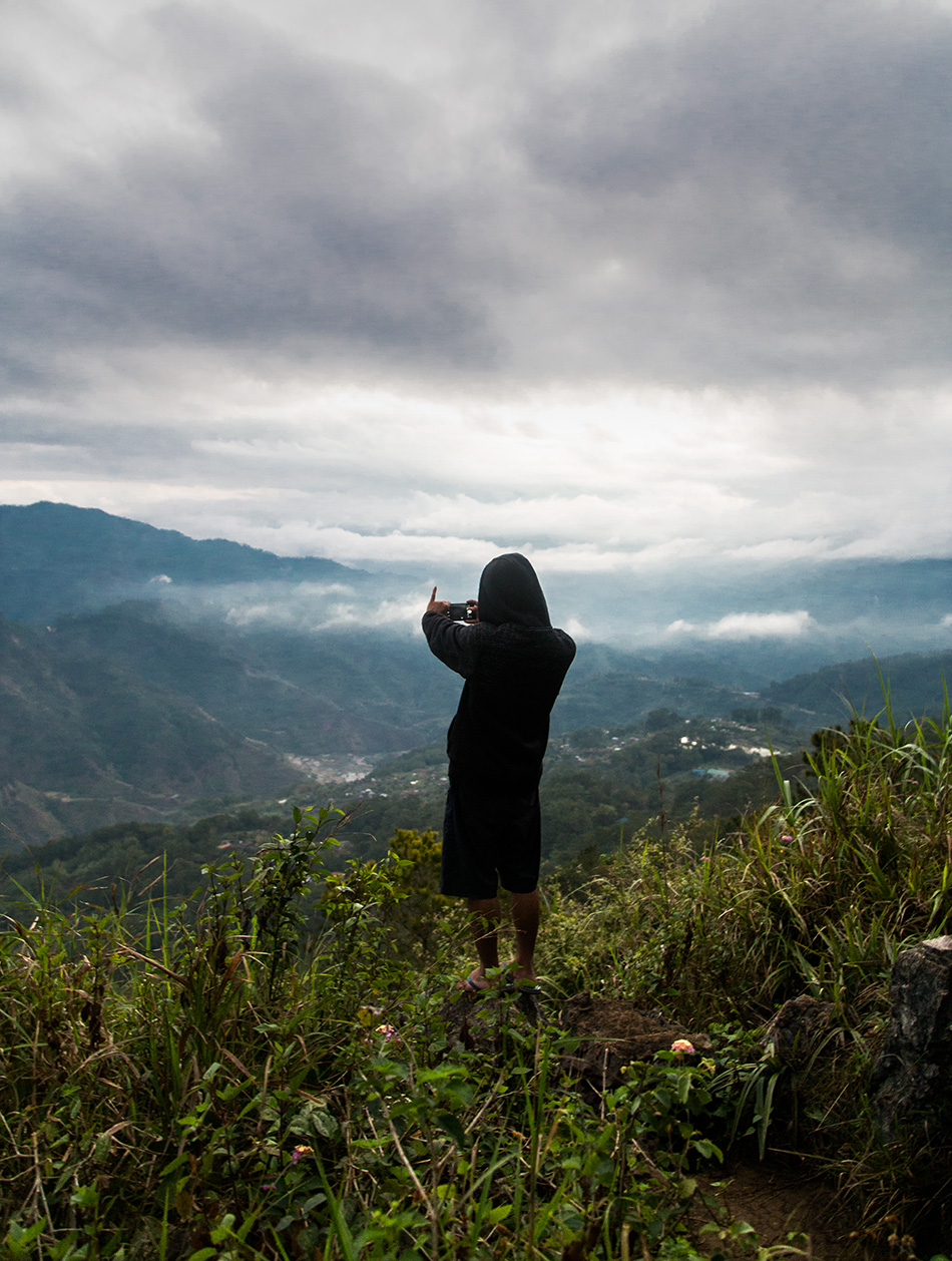 Fabian Fröhlich, Kiltepan Peak, Sagada, Philippinen