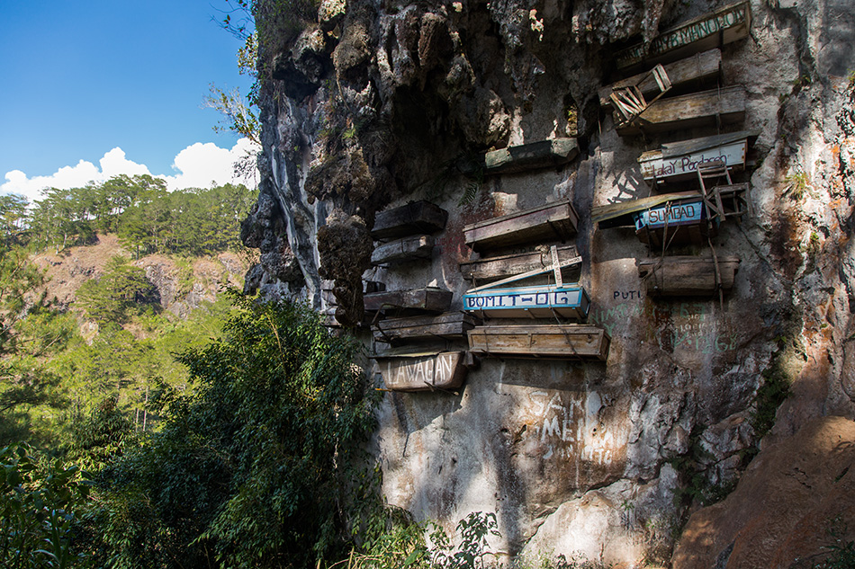 Fabian Fröhlich, Sagada, Philippinen, Hanging Coffins in Echo Valley