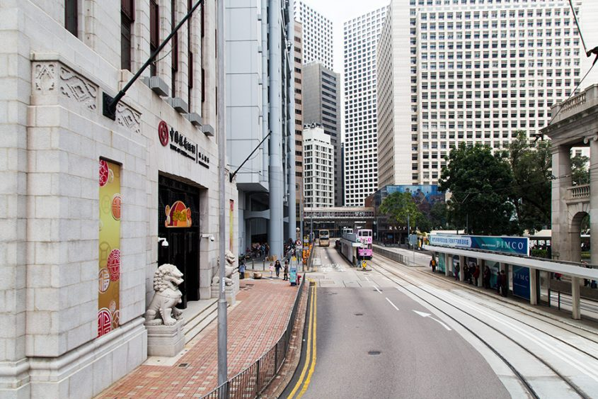 Fabian Fröhlich, Hong Kong Island, Des Voeux Road