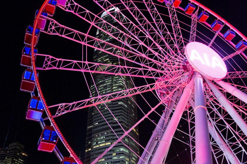 Fabian Fröhlich, Hong Kong Island, Observation Wheel