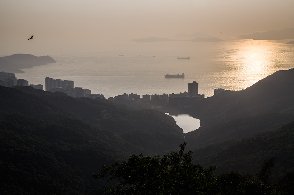 Fabian Fröhlich, Hong Kong Island, View from Victoria Peak