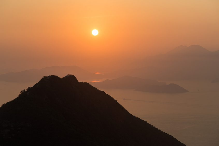 Fabian Fröhlich, Hong Kong Island, View from Victoria Peak
