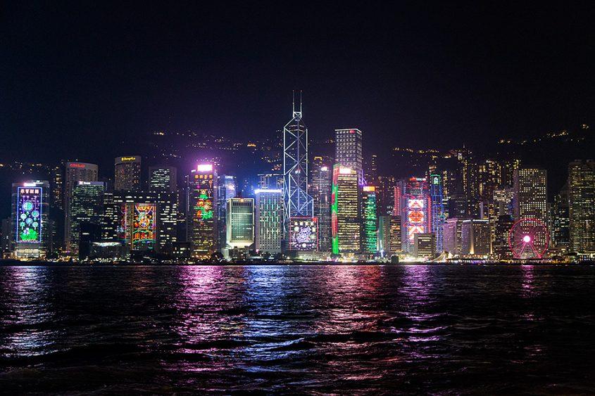 Fabian Fröhlich, Hong Kong Island, Skyline at night