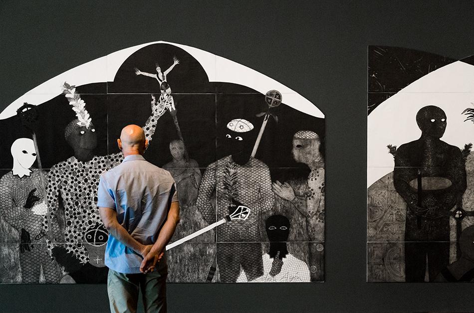 Fabian Fröhlich, 10 Berlin Biennale, Belkis Ayón, La consagración (Akademie der Künste)