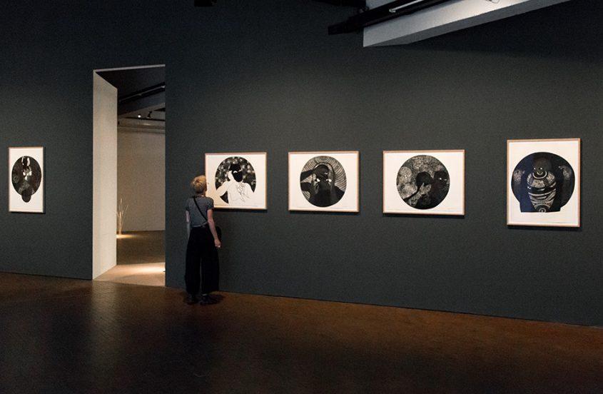 Fabian Fröhlich, 10 Berlin Biennale, Belkis Ayón, installation view