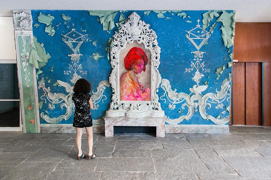 Fabian Fröhlich, 10 Berlin Biennale, Firelei Báez, for Marie-Louise Coidavid, exiled, keeper of order, Anacaona (Akademie der Künste)