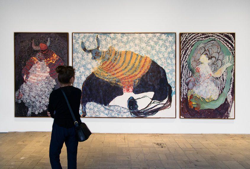 Fabian Fröhlich, 10 Berlin Biennale, Portia Zvavahera, Hapana Chitsva (KW Institute for Contemporary Art)