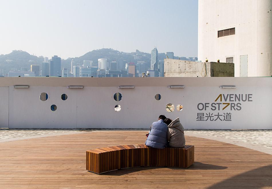 Fabian Fröhlich, Hongkong, Kowloon, Avenue of Stars