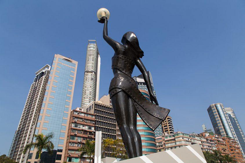 Fabian Fröhlich, Hongkong, Kowloon, Garden of Stars