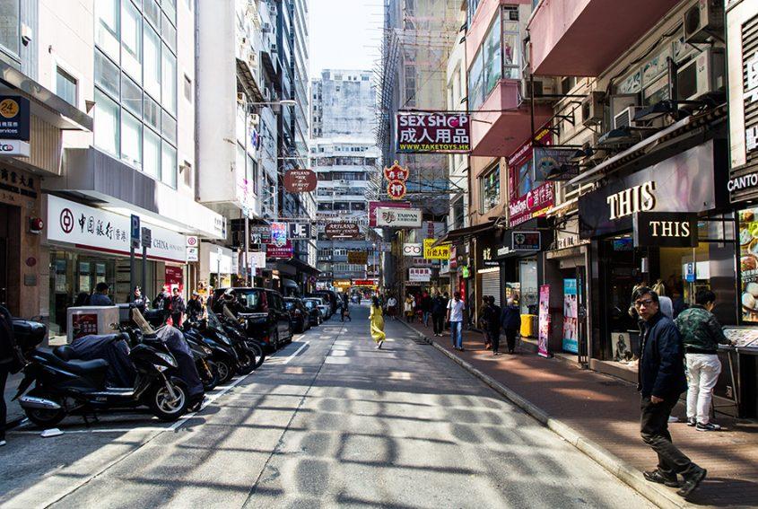 Fabian Fröhlich, Hongkong, Kowloon, Humphreys Avenue