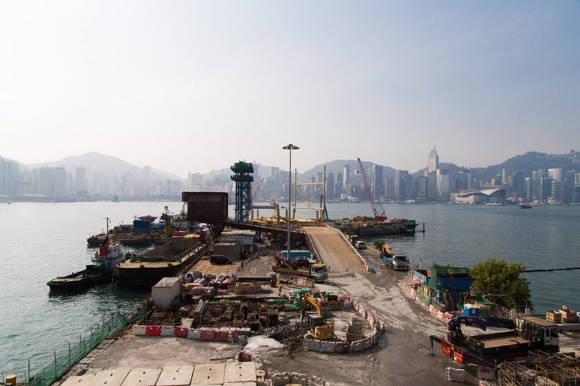 Fabian Fröhlich, Hongkong, Kowloon, Hung Hom Bay