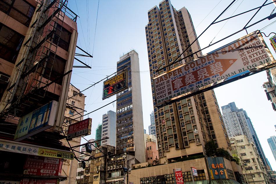 Fabian Fröhlich, Hongkong, Kowloon, Portland Street