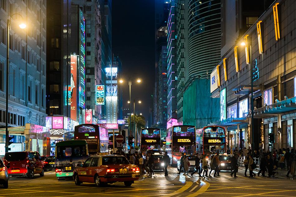 Fabian Fröhlich, Hongkong, Kowloon, Nathan Road