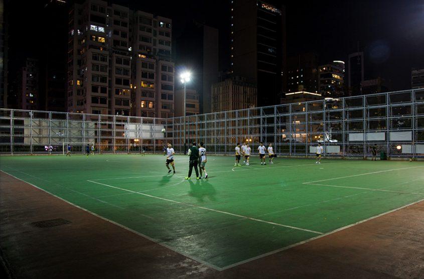 Fabian Fröhlich, Hongkong, Futsal Ground at Kowloon Park