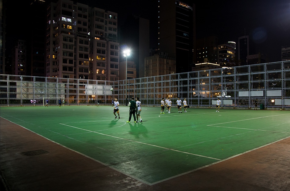 Fabian Fröhlich, Hongkong, Futsal Ground at Kowloon Park