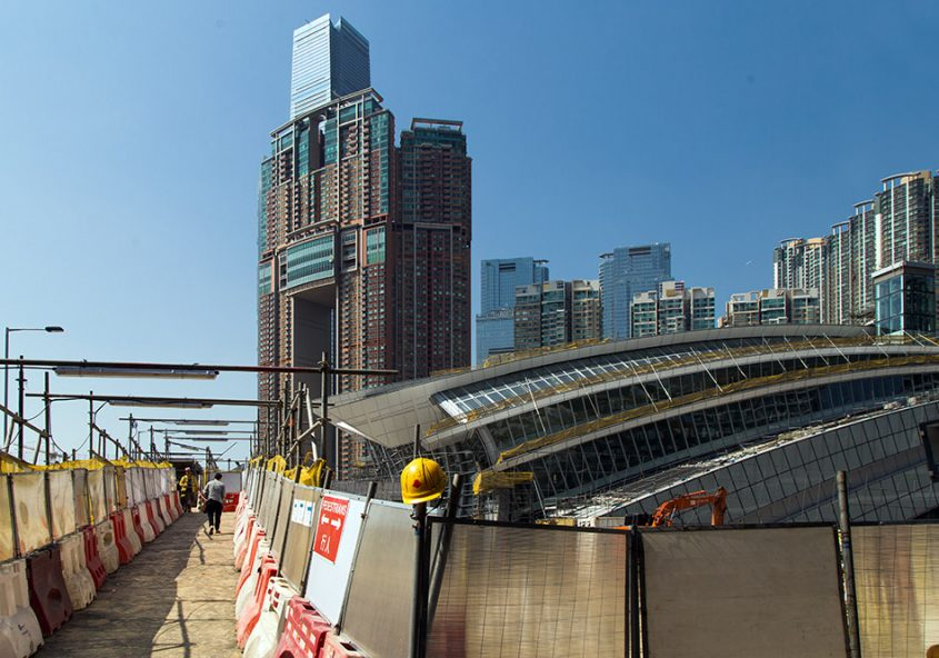 Fabian Fröhlich, Hongkong, Kowloon Station
