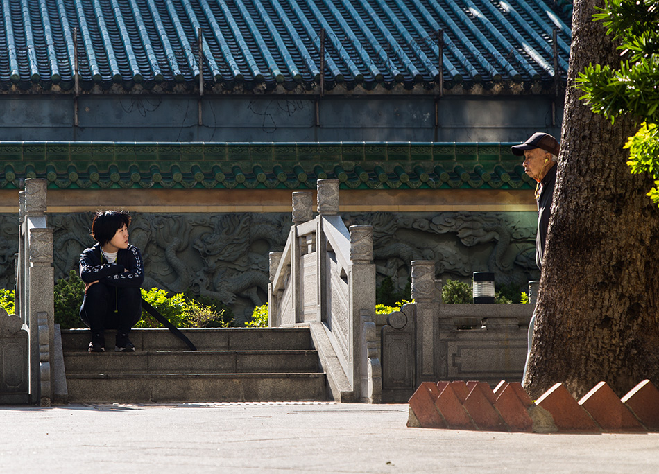 Fabian Fröhlich, Hongkong, Kowloon, Tin Hau Temple