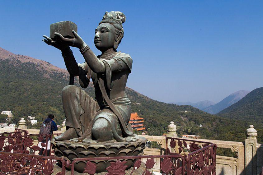 Fabian Fröhlich, Hongkong, Lantau, Boddhisatva
