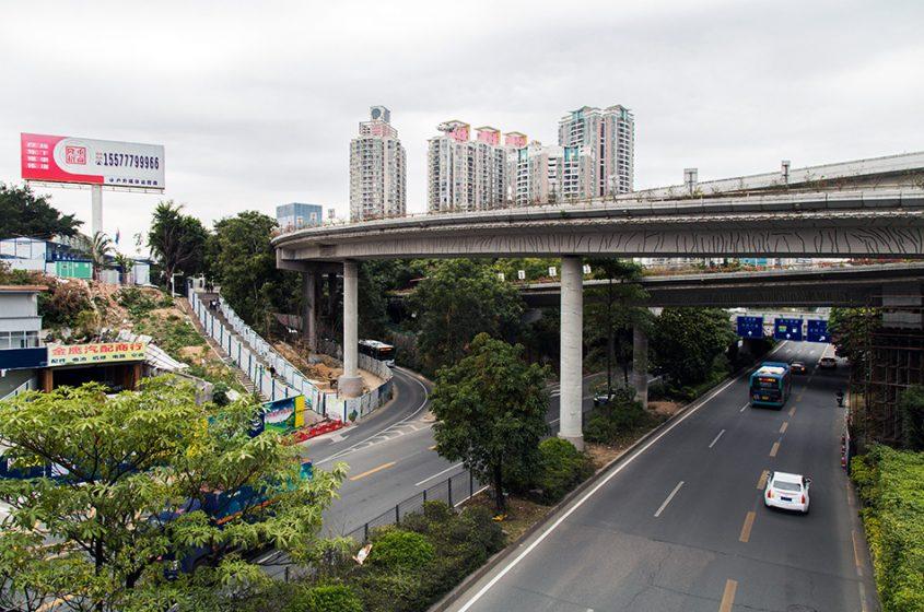 Fabian Fröhlich, Shenzhen, Busha Road